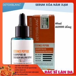 Combo trị nám tận gốc Detox Blanc Tặng kem chống nắng skin aec - COMBONAMTANGKCN 4