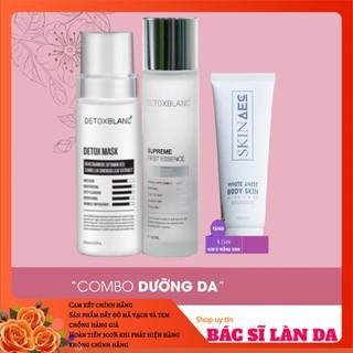 Combo dưỡng da gồm detox mask+nước thần Detox Blanc mua 1 tặng 1 - CBDUONGDA thumbnail