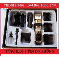 Tông đơ cắt tóc công suất 12w DALING 1006 tặng kèm 1 pin dự phòng