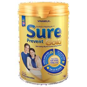 Sữa bột Sure prevent gold Vinamilk 900g - Sure prevent 900g - Sữa bột Sure prevent gold Vinamilk