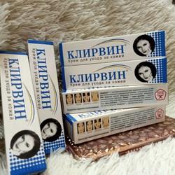 01  Kem trị sẹo KLIRVIN Nga (cho khách test mã vạch chuẩn luôn a)