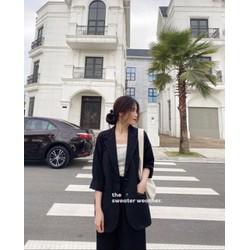 Áo khoác vest, blazer nữ cao cấp phong cách Hàn Quốc