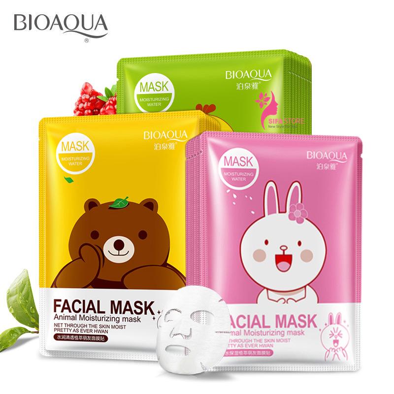 Mặt Nạ Dưỡng Ẩm Hoạt Hình Facial Mask