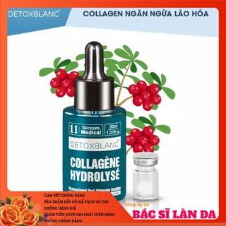 Serum dưỡng Colagel thuỷ phân dưỡng trắng da mặt chuyên sâu detox blanc - serumcollagen thumbnail