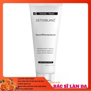 Sữa tắm thải độc trắng da than hoạt tính Detox Blanc - body blanc bath detox - STDB0703139 thumbnail