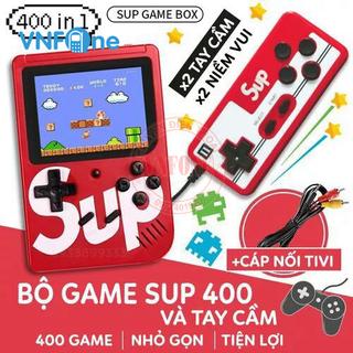 Máy Chơi Game Sup 400 Game In 1 Retro Kèm Tay Cầm Chơi Game 2 Người - 7736130785 thumbnail