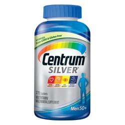 Vitamin tổng hợp cho người lớn Centrum Silver Men 50+ 275 viên nhập Mỹ - Mẫu mới