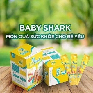Combo 2hộp Siro BABY SHARK giúp bé ăn ngon- hấp thu tốt - hết táo bón -Mua 2 hộp tặng 2gói cùng loại - baby shark 1 thumbnail