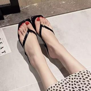 Dép nữ xinh xỏ ngón Size lớn 42 43 - Dép nữ xỏ một ngón quai mảnh thời trang DEP&SHO [ĐƯỢC KIỂM HÀNG] 32498762 - 32498762 thumbnail