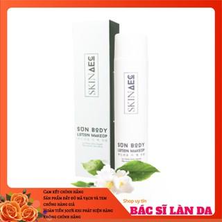 Kem dưỡng trắng da chống nắng ban ngày Skin Aec (sun body lotion makeup Skin Aec) - AEC SUN BODY LOTION MAKEUP thumbnail