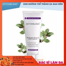 Kem dưỡng trắng da body ban đêm Detox Blanc - DƯỠNG BODY ĐÊM