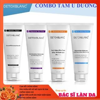 Bộ tắm trắng thải độc body Detox Blanc - BBD thumbnail