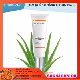 Kem dưỡng trắng da chống nắng Detox Blanc - KCN 668899