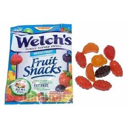 COMBO 20 GÓI Kẹo Dẻo Welch'S Fruit Snacks Mỹ
