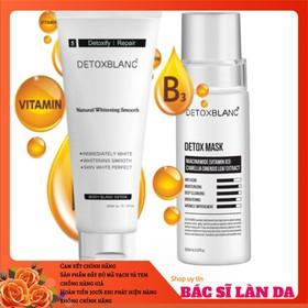 Bộ tắm trắng thải độc body và face Detox Blanc - MASK.TẮMTHAIDOC