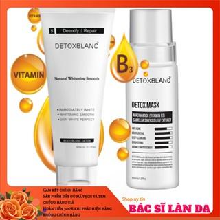 Bộ tắm trắng thải độc body và face Detox Blanc - MASK.TẮMTHAIDOC thumbnail