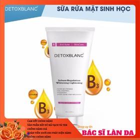 Sữa rửa mặt sinh học clear skin control Detox Blanc - SRMDB070328