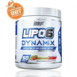Lipo-6 Dynamix Pre-workout Tăng Sức Mạnh Kiêm Đốt Mỡ