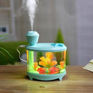 Máy tạo độ ẩm hình bể cá mini - Máy tạo độ ẩm hình bể cá mini thumbnail