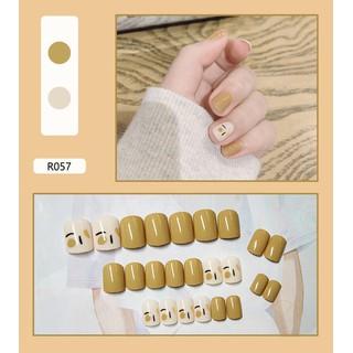 Móng tay giả có keo sẵn nail giả đẹp bộ 24 móng tay giả nhựa hot trend móng giả bộ móng tay giả KR-MT01 - KR-MT01 thumbnail
