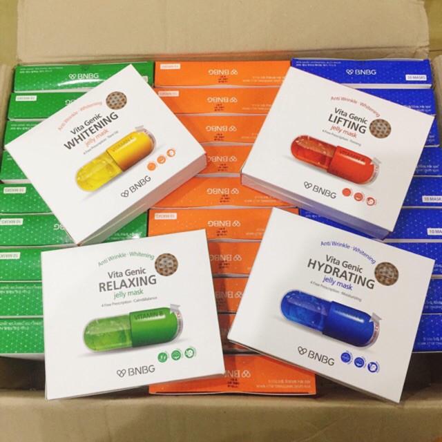 Mặt Nạ Banobagi Vitamin 4 Màu Vita Genic Jelly Mask Hàn Quốc 30Ml
