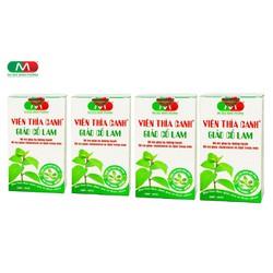 Bộ 4 Hộp Thực phẩm bảo vệ sức khỏe hỗ trợ cho người mắc bệnh tiểu đường, giảm Cholesterol và Lipid VIÊN THÌA CANH GIẢO CỔ LAM ĐẠI ĐỨC MẠNH - 4 Hộp x 60 Viên - Tặng 01 Hộp 60 viên cùng loại