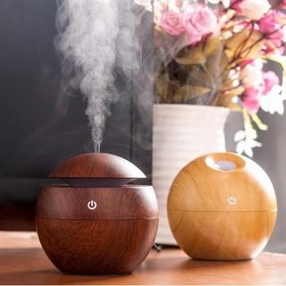 Máy phun sương tạo ẩm mini vân gỗ - Máy phun sương sang trọng thumbnail