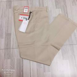 quần kaki dáng thụng túi chéo nam trung niên hàng Vinh tiên
