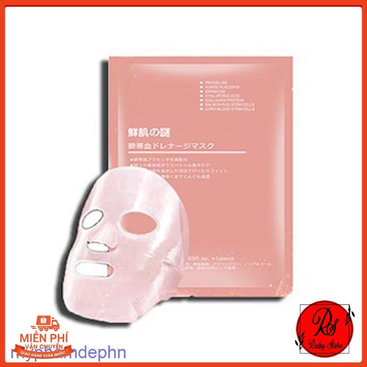 Miếng Mask Mặt Nạ Nhau Thai Cuống Rốn Nhật Bản