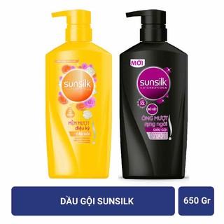 Dầu gội Sunsilk mềm mượt diệu kì 650g date 2023 - DGS90 thumbnail