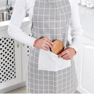 Tạp Dề Vải Nội Trợ Nhà Bếp - Vải Kẻ Ô- tạp dề nhà bếp- tạp dề làm bếp - tapdecaro thumbnail