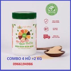 [CHÍNH HÃNG 100%][4 hũ] 2 Kg Bột Ngũ Cốc dinh dưỡng 12 loại hạt