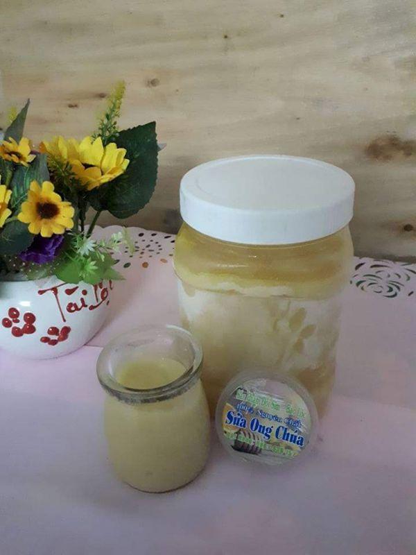 Sữa ong chúa nguyên chất làm dẹp