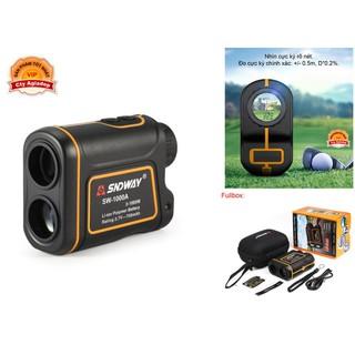 Ống nhòm Laser đo khoảng cách, góc, vận tốc Xây dựng, chơi Golf Hàng hiệu SNDWAY- AGD - Seagd854s thumbnail