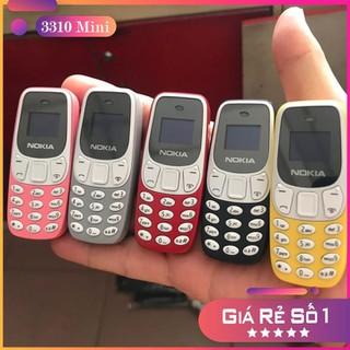 Điện Thoại 3310 Mini 2 Sim 2 Sóng - Nghe Gọi , Nhắn Tin, Nghe Nhạc Với Màn Hình Mini 0.66 inch - Nhỏ Gọn , Tiện Dụng , Pin Dung Lượng Cao Có Thể Sử Dụng Được Cả Ngày Không Lo Hết Pin