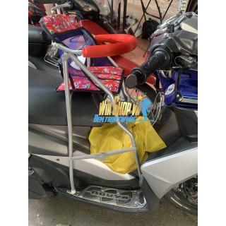 Ghế ngồi xe máy có vòng bảo vệ xếp gọn xe AIRBLADE CỦ - NOUVO 4,5 [ĐƯỢC KIỂM HÀNG] 32533565 - 32533565 thumbnail