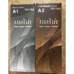 Thuốc Nhuộm Tóc FRENIA Thái Lan A1 màu đen A2 màu nâu đen