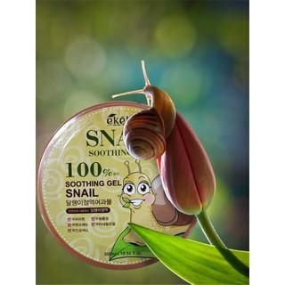 Gel dưỡng đa năng tinh chất ốc sên Ekel - Moisture Snail Soothing Gel 300gr - Snail- Soothing Gel thumbnail