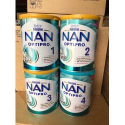 [LẺ GIÁ SỈ] Sữa Nan Nga 800g Đủ Số 1,2,3,4 Mẫu Mới, Date Mới