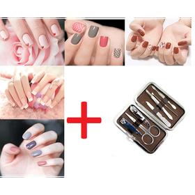 Bộ 6 lọ sơn móng tay Maycreate tặng bộ cắt móng tay 7 món - DGI56