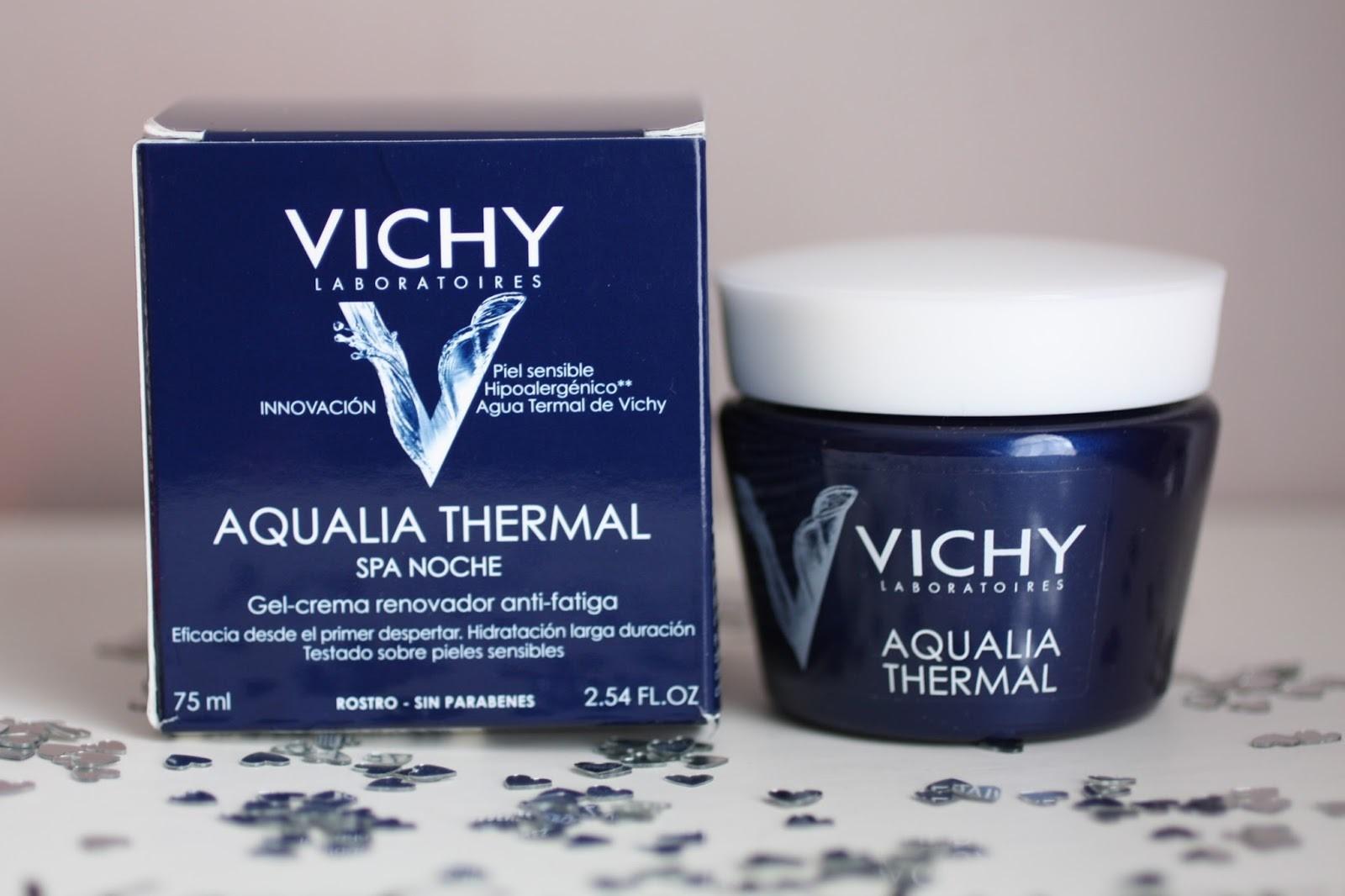 (CHÍNH HÃNG) Mặt nạ ngủ cung cấp nước tức thì Vichy Aqualia Thermal Night Spa 75ml