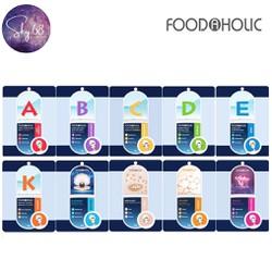 Combo 5 Mặt Nạ Giấy Chăm Sóc Da Toàn Diện Foodaholic Mask 23g x 5