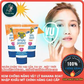Kem chống nắng vật lý banana boat nhập khẩu mỹ chính hãng cao cấp - kem chống nắng đi biển - kcnbananaboat