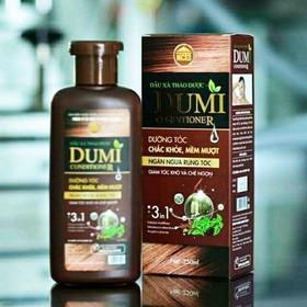 [Giá Sỉ] Dầu xả thảo dược DUMI Conditioner 250ml – Dầu xả dưỡng tóc, trị rụng tóc - Chính hãng NCT3 - DauxaDumi250ml