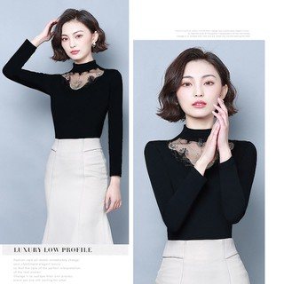 Áo len nữ cổ ren - ALN thumbnail