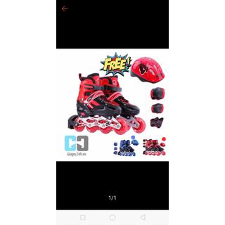giầy trượt patin cao cấp tặng mũ và bảo hộ tay chân [ĐƯỢC KIỂM HÀNG] - SHOPBAN31083VN thumbnail