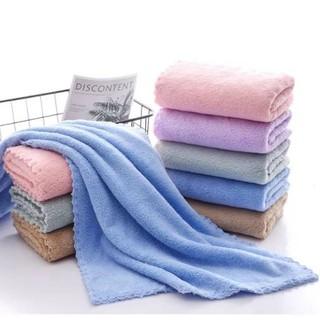 (Xả kho 1 ngày duy nhất) Combo 5 khăn tắm gội xuất Hàn kích thước 35x75cm siêu mềm siêu thấm - 3575 thumbnail