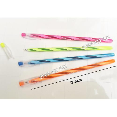 Bút bi thân dài hình nến [ bút sọc dài ]