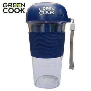 Máy xay sinh tố cầm tay pin sạc Green Cook GCJ02 35W 300ml xay được đá - GCJ02 thumbnail
