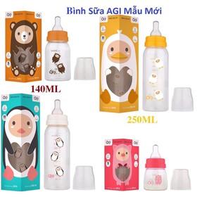 Bình Agi 60ML - 120ML - 250ML _Bình Sữa Agi Đủ Dung Tích Cho Bé - Bình Uống Sữa Agi Cho Bé - Agi